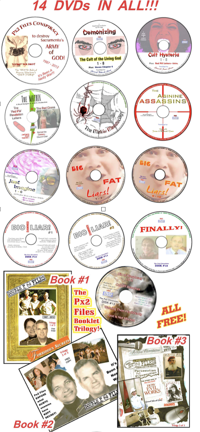 PX2 DVDs